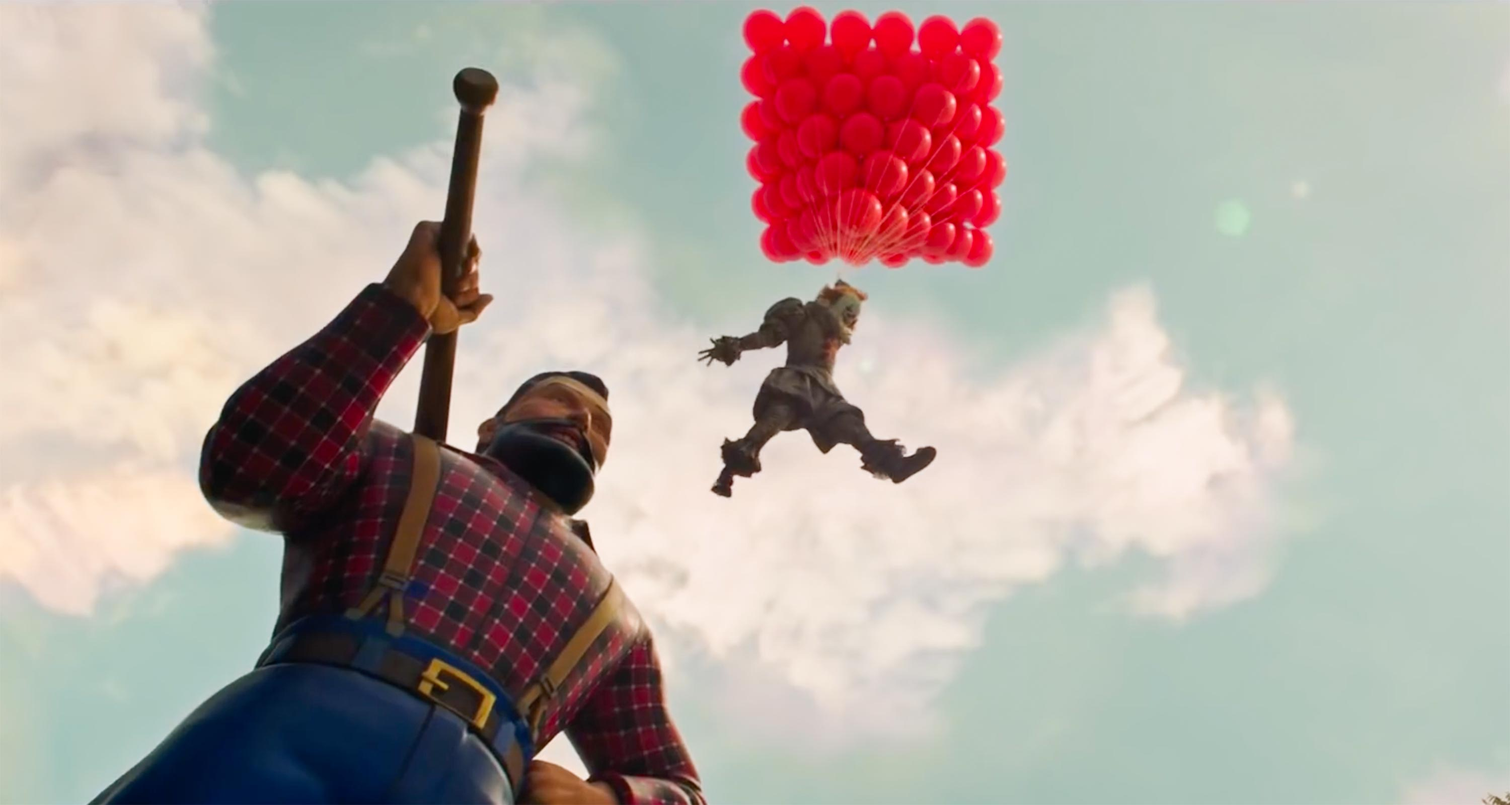 IT Chapter 2 trailer screen grab